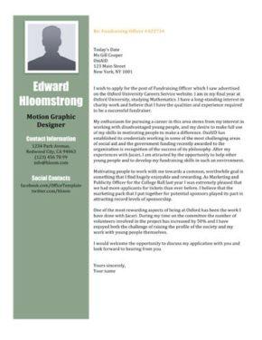 Full House cover letter