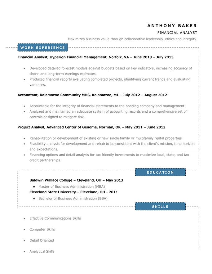 modern resume  60  free templates  u0026 writing guide