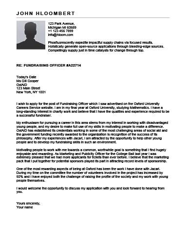 open office cover letter