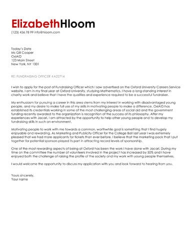 Bold Red Shading cover letter