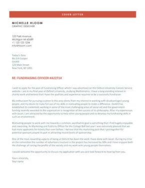 Grindstone cover letter