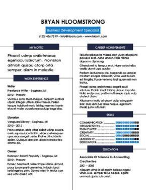 Plantilla de CV refinada