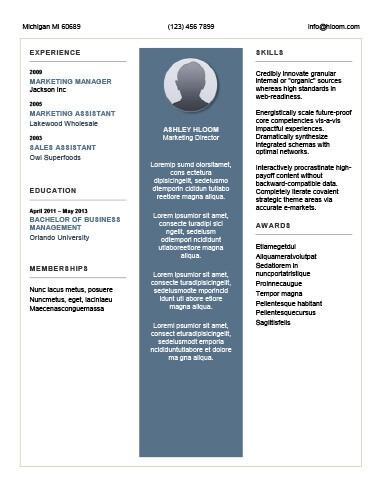 Expressive Resume Template
