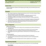 3modèles de CV données personnelles