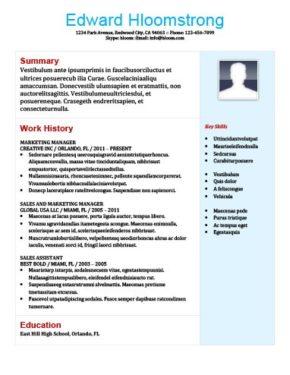 Nascent Resume Template