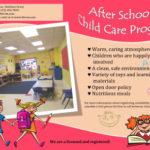 After School Childcare Program Flyer Template
