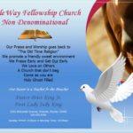 Bible Way Fellowship Church Flyer Template
