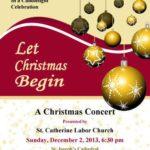 Church Concert Flyer