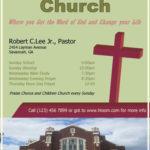 Church Information Flyer