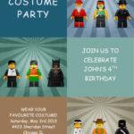 Costume Kids Party Invitation