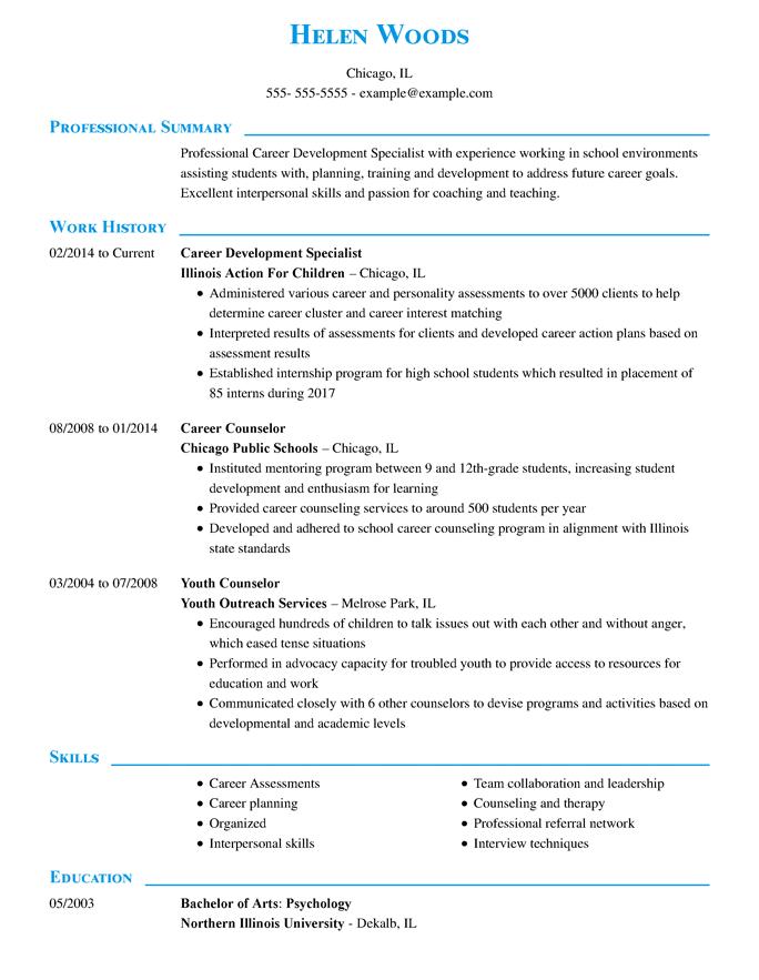 Specialista dello sviluppo professionale - Dirigenziale