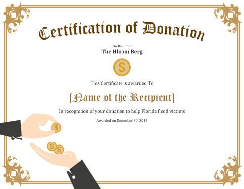Donation Recognitioon Certificate.doc