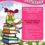Early Learning Preschool Flyer Template