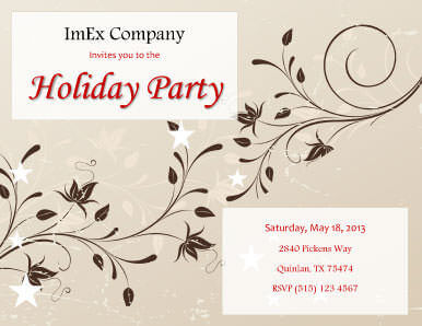 26 Free Printable Party Invitation Templates In Word Hloom