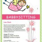 Free Babysitting Flyer
