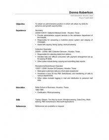279 free resume templates in microsoft word