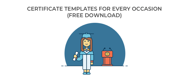 Personalize 124 Free Certificate Templates Download Hloom
