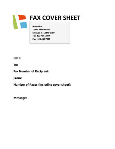 Free Printable Fax Cover Sheet Templates