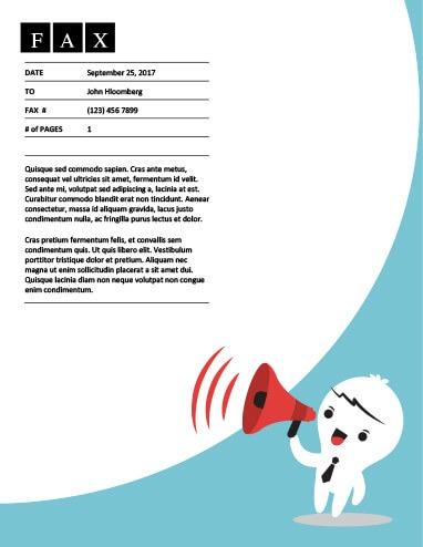 Message Amplifier Fax Template