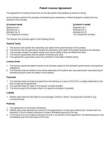 31 sample agreement templates in microsoft word for Manufacturers rep agreement template