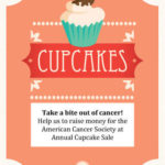 Perfect in Pink Bake Sale Flyer
