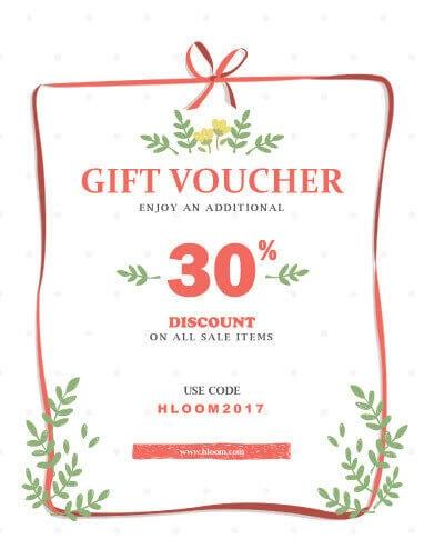 Printable Discount Gift Voucher