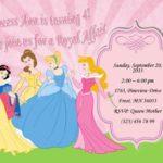 Royal Affair Kids Party Invitation