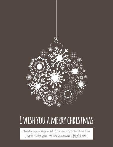 Sending Heartfelt Wishes Christmas Card