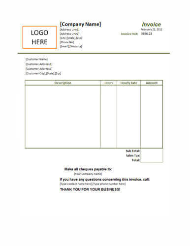 small business invoice - Business Invoice