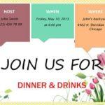 Spring Party invitation