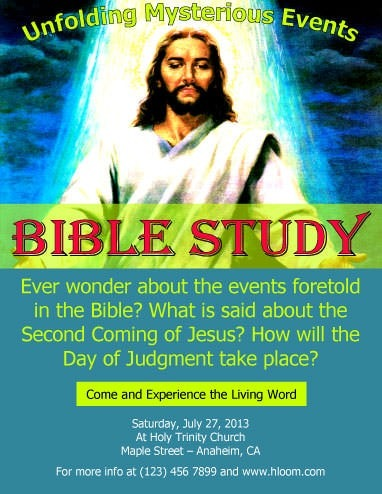 Free Flyers To Promote Church Events Download - Free church flyer templates microsoft word