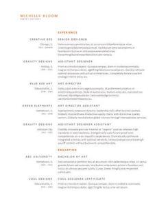 free resume builder review the top online resume makers hloom