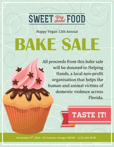 Vegan Annual Bake Sale