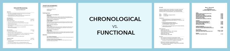 Chronological vs. Functional