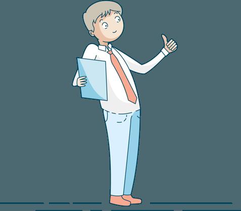 Illustrazione del curriculum