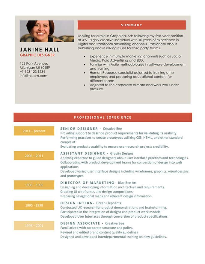 Grindstone Resume Template