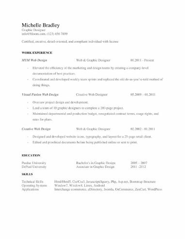 High Tech Special Resume Template