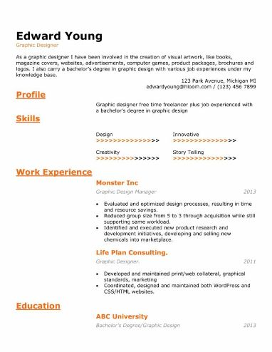 Technical Special Resume Template