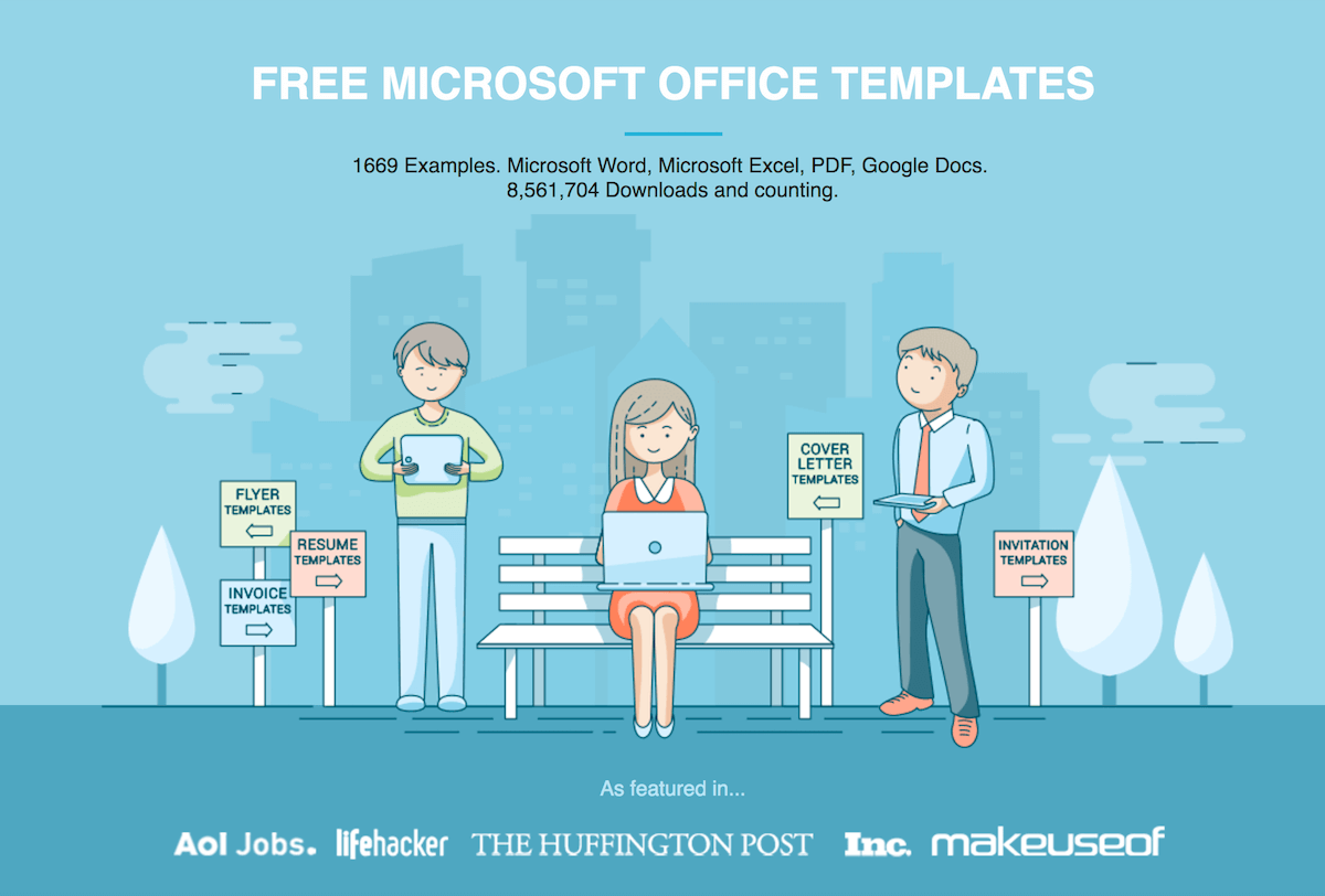 Free Microsoft Office Templates By HloomCom