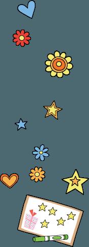 potty chart stickers